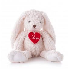 Lumpin Плюшена играчка бяло зайче Джули 20 см