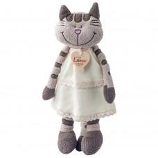 Lumpin Плюшена играчка Коте с рокля Ангелика, 36 см