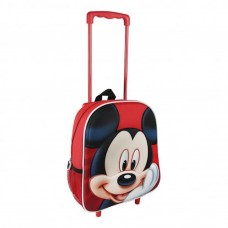 Cerda 3D Small backpack on wheels Mickey