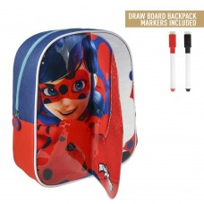 Cerda Little backpack with markers for coloring Ladybug