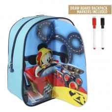 Cerda Little backpack with markers for coloring Mickey