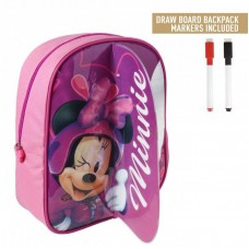 Cerda Little backpack with markers for coloring Minnie