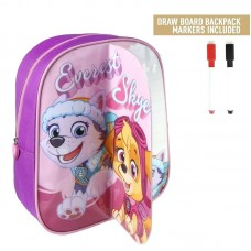 Cerda Little backpack with markers for coloring Paw Patrol girl