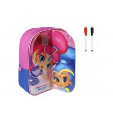 Cerda Little backpack with markers for coloring Shimmer Shine