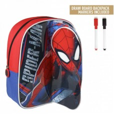 Cerda Little backpack with markers for coloring Spider man