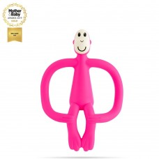 Matchstick Monkey Monkey Teething Toy Pink