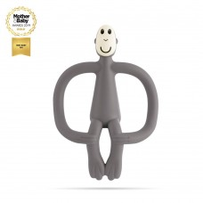 Matchstick Monkey Monkey Teething Toy Grey