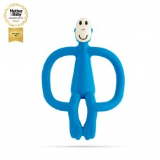 Matchstick Monkey Monkey Teething Toy Blue