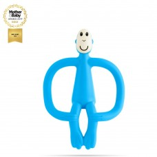 Matchstick Monkey Monkey Teething Toy Light Blue