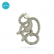 Matchstick Monkey Mini Monkey Teether Grey