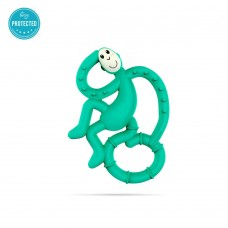 Matchstick Monkey Mini Monkey Teether Green