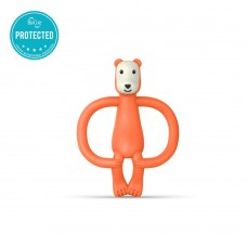 Matchstick Monkey Bear Teething Toy Orange