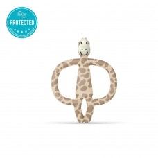 Matchstick Monkey Giraffe Teething Toy beige