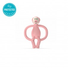 Matchstick Monkey Pig Teething Toy pink