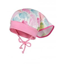 Maximo Baby summer hat, pink fishes