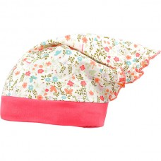 Maximo Baby summer hat, pink flowers
