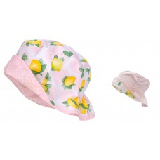 Maximo Baby summer hat, lemons and dots