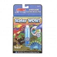 Melissa & Doug Книжка за оцветяване с вода Динозаври