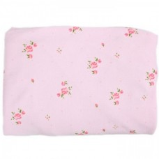 Minene Fitted Cot Bed Sheet pink flowers