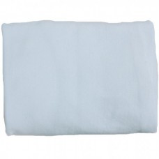 Minene Fitted Cot Bed Sheet blue