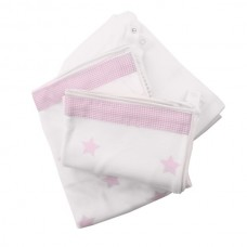Minene Innovative Bed Sheet Set Pink stars