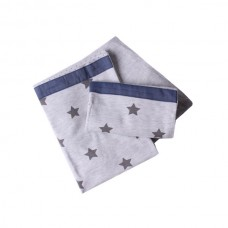Minene Innovative Bed Sheet Set Grey stars