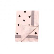 Minene Summer Blanket 85x115 cm cream stars