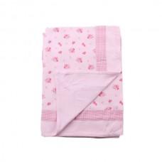 Minene Summer Blanket 85x115 cm pink flowers