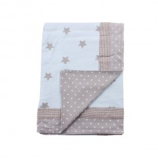 Minene Summer Blanket 85x115 cm blue stars