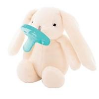 Minikoioi Sleep Buddy, White Bunny