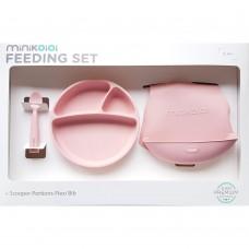 Minikoioi Baby Feeding Set, pink