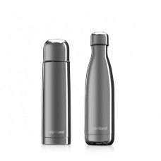 Miniland My baby and Me Thermos Set Silver