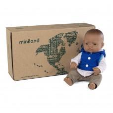 Miniland Doll 32 cm and clothes boy