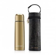 Miniland Deluxe Thermos, gold
