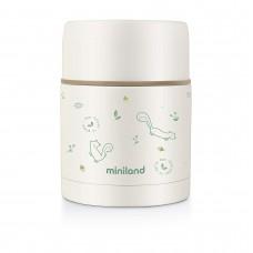 Miniland Liquid vacuum flask 600 ml Natur