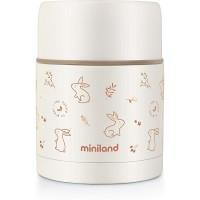 Miniland Liquid vacuum flask 600 ml Natur Bunny