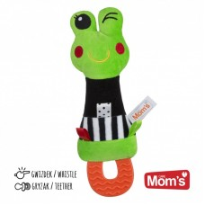 Mom's care Squeeze Frog