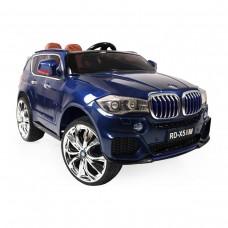 Moni Electric jeep BMW M5X, Blue metallic color