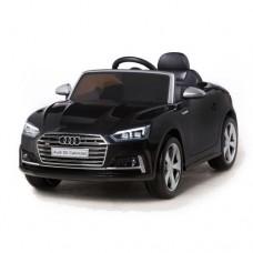 Moni Electric car Audi S5 Cabriolet, Black metallic color