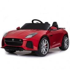 Moni Electric car Jaguar F-type SVR, Red metallic color