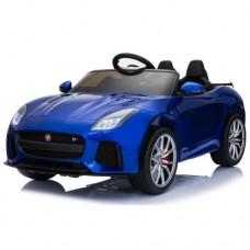 Moni Electric car Jaguar F-type SVR, Blue metallic color