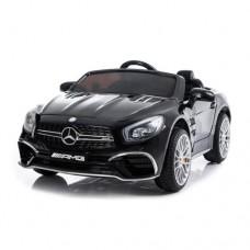 Moni Electric car Mercedes SL63, Black metallic color