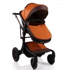 Moni Baby Stroller Sofie leather