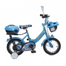 "Moni Children's bicycle 12"" blue"