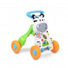 Moni Играчка за прохождане 2 в 1 Little Zebra
