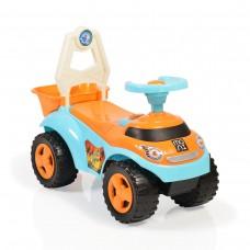 Moni Детска кола за бутане Summer Car синя