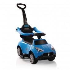 Moni Кола за бутане с дръжка Horizon синя