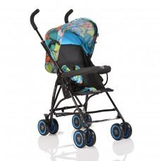 Moni Детска лятна количка Billy сини пеперуди