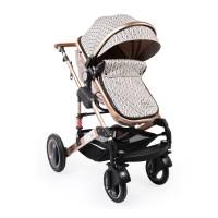 Moni Комбинирана бебешка количка Gala Premium Barley
