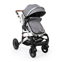 Moni Комбинирана бебешка количка Gala Premium Stars